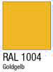Garderobenschrank Farbmuster goldgelb
